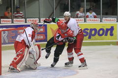 Slavia Prague vs, Avtomobilist Yekaterinburg Royalty Free Stock Photos