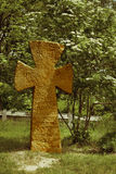 Slavic ancient cross Stock Image