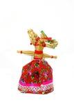 Slavic holiday carnival dolls. Slavic holiday carnival handmade dolls Royalty Free Stock Photo