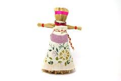 Slavic holiday carnival dolls. Slavic holiday carnival handmade dolls Royalty Free Stock Images