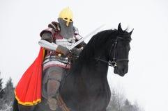 Slavic knight  Stock Photo