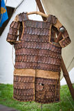 Slavic leather armor Stock Photography