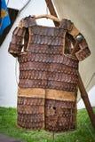 Slavic leather armor Stock Photography