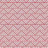 Slavic ornament seamless pattern. Slavic ornament seamless  pattern, red monochrome on transparent background, traditional ethnic ornament Stock Images