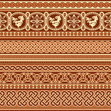 Slavic ornament seamless Royalty Free Stock Photo