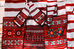 Slavic Traditional Pattern Ornament Embroidery Royalty Free Stock Images
