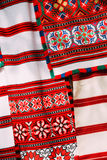Slavic Traditional Pattern Ornament Embroidery. Culture of Belar Royalty Free Stock Photography