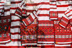 Slavic Traditional Pattern Ornament Embroidery. Culture of Belarus. Belorussian ethnic national folks ornament on clothes. Slavic Traditional Pattern Ornament royalty free stock image