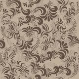 Slavic traditional swirls in vector Royalty Free Stock Images