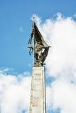Slavin мемориальный памятник и воинское кладбище в Bratisl Стоковое Фото