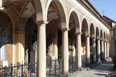 Slavin cemetery in Prague Royalty Free Stock Image
