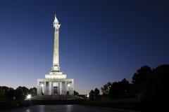 Slavin, le mémorial aux soldats soviétiques, Bratislava Photos libres de droits
