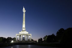 Slavin, the memorial to Soviet soldiers, Bratislava Royalty Free Stock Photos