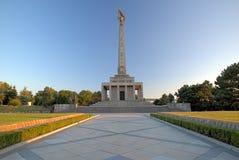 Slavin - minnes- monument Arkivbilder