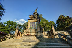 Slavin tomb, designed by Antonin Wiehl, at Vysehrad cemetery Royalty Free Stock Photography