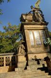 Slavin tomb, designed by Antonin Wiehl, at Vysehrad cemetery royalty free stock images