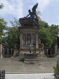 Slavin tomb, Vyšehrad cemetery, Prague Royalty Free Stock Photo