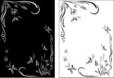 Slavisch bloemenpatroon Stock Afbeeldingen