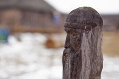 Slavisch houten idool Stock Afbeeldingen