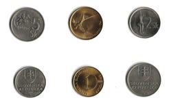 Slavische muntstukken Royalty-vrije Stock Foto's