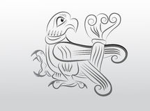 Slavische vogel Royalty-vrije Stock Foto