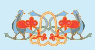 Slavische vogel Royalty-vrije Stock Afbeelding