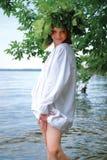 Slavische vrouw Royalty-vrije Stock Foto