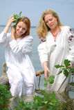 Slavische vrouwen Royalty-vrije Stock Fotografie