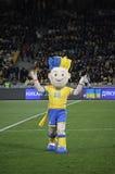 Slavko, the UEFA Euro 2012 official mascot Royalty Free Stock Photo
