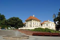 slavkov замока стоковое изображение rf