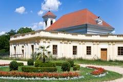 Slavkov castle near Brno, Moravia, Czech republic Royalty Free Stock Photos