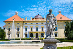 Slavkov castle near Brno, Moravia, Czech republic Stock Image