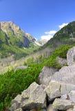 Slavkovsky peak - High Tatras mountains ,Western Carpathians, Slovakia Royalty Free Stock Images