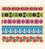 Slavonic natural patterns Stock Image