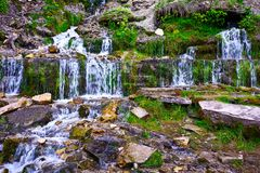 Slavonic Springs in Izborsk, Pskov region. Russia Royalty Free Stock Image