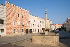 Slavonice, Czech Republic Royalty Free Stock Photos