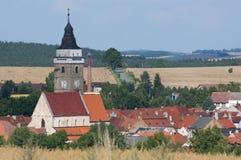 Slavonice, Czech republic Stock Photo