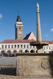 Slavonice, Czech republic Royalty Free Stock Photography