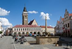 Slavonice, Czech republic Royalty Free Stock Photography