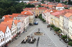 Slavonice, republika czech Zdjęcie Stock