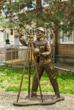 SLAVYANSK-ON-KUBAN, RUSSIA - APRIL 09.2016: Sculpture Stock Photo