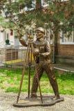 SLAVYANSK-OP-KUBAN, RUSLAND - APRIL 09 2016: Beeldhouwwerk Stock Foto