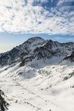 Slawkowski Szczyt - szczyt (Slavkovsky stit) Fotografia Royalty Free