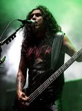 Slayer Performs in Concert stock photography