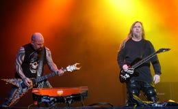 Slayer on Sopnisphere festival CZ royalty free stock photo