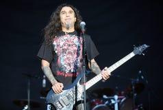 Slayer on Sopnisphere festival CZ Stock Photography