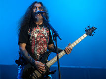 Slayer on Sopnisphere festival CZ Royalty Free Stock Photo