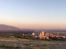 SLC Utah arkivfoton