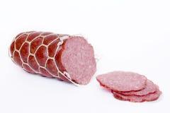 Slced sausage Stock Photo