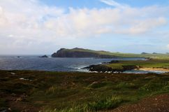Slea Head bay and promontory, Ireland Stock Photography